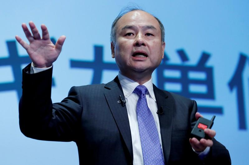 SoftBank Group shares slide over 4% after massive quarterly loss