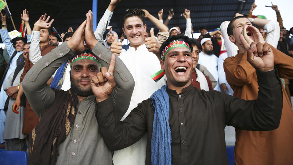 The futire of cricket in Afghanistan is cloudy following the Taliban's recent return to power in the Middle Eastern nation. (Xinhua/Rahmatullah Alizadah via Getty Images)