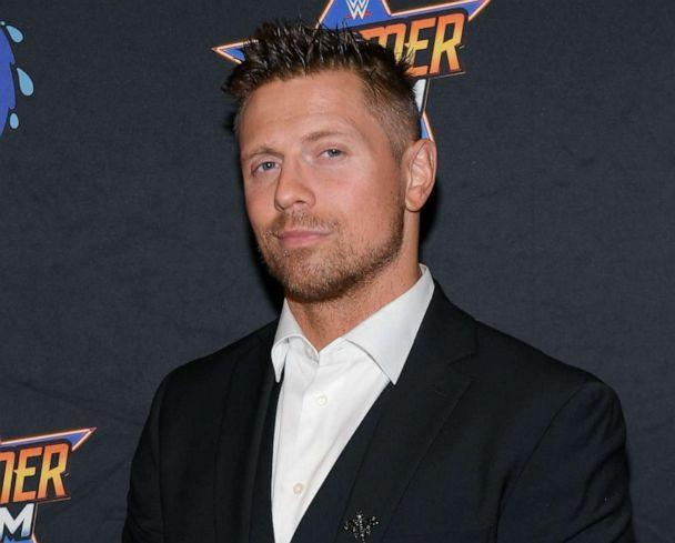PHOTO: Professional wrestler Mike 'The Miz' Mizanin attends an event on Aug. 21, 2021, in Las Vegas. (Bryan Steffy/Getty Images, FILE)