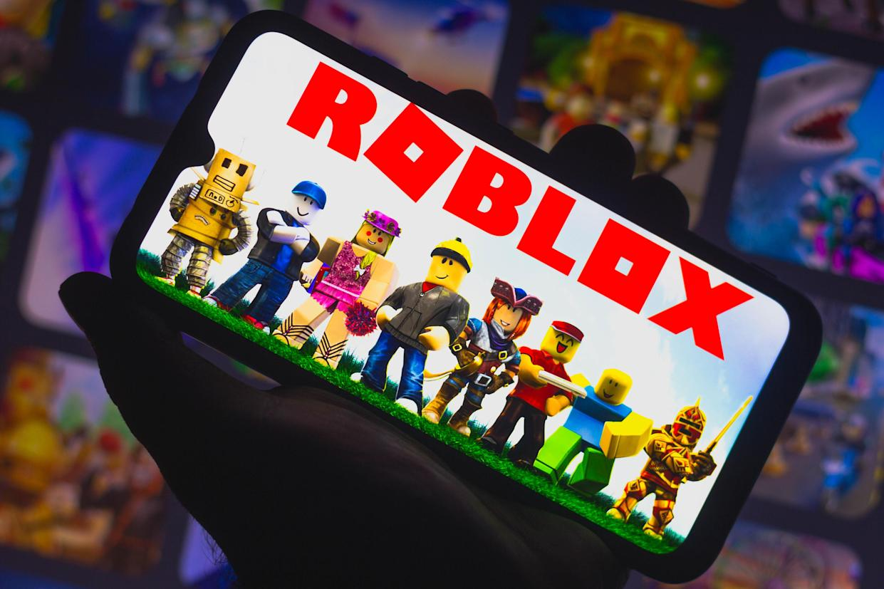 Roblox is a popular multiplayer online game and video game creation system. Photo: Rafael Henrique/SOPA Images/LightRocket via Getty Images
