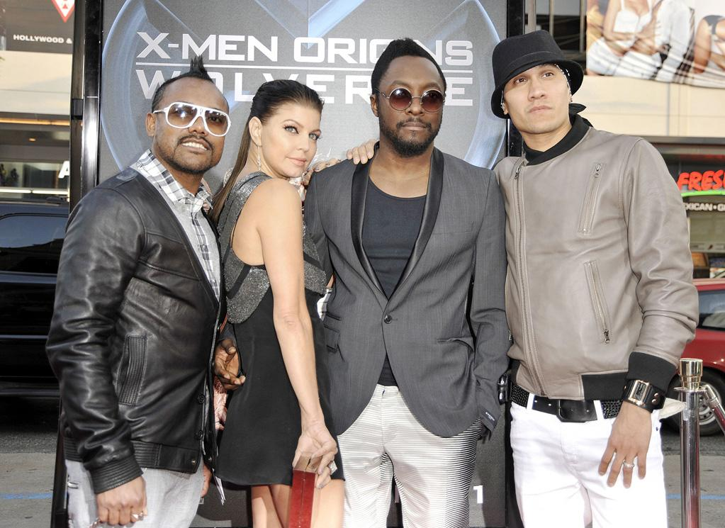 "The Black Eye Peas at the Los Angeles premiere of <a href=""http://movies.yahoo.com/movie/1808665084/info"">X-Men Origins: Wolverine</a> - 04/28/2009"