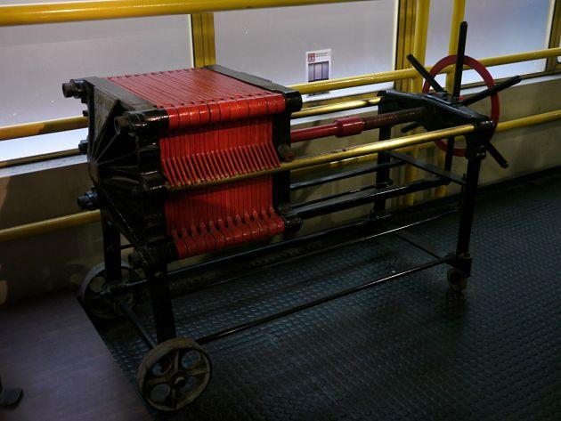 Take a step back into the past! This machine was how Tiger Beer was made in the olden days. (Yahoo! Singapore/ Deborah Choo)