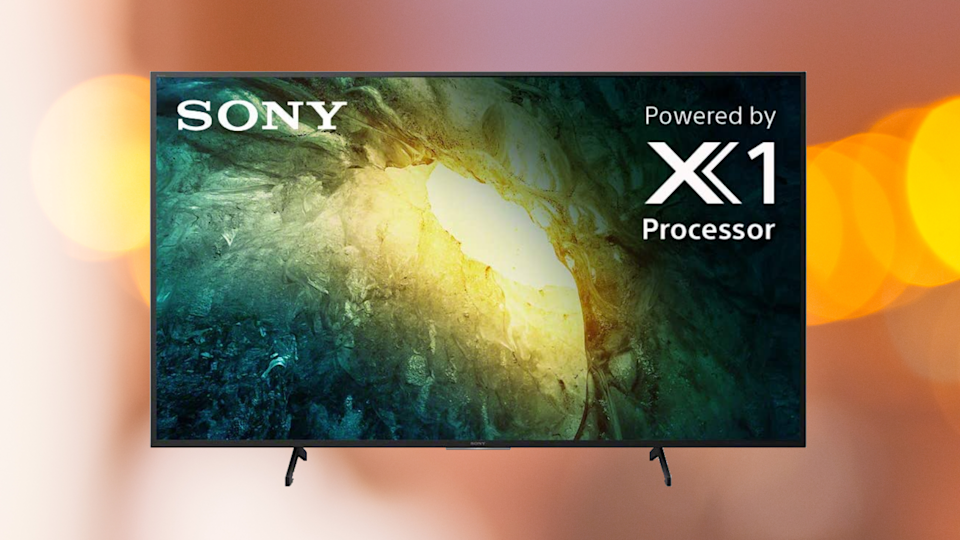 Save 20 percent on this Sony X800H 65-inch 4K Ultra HD Smart LED TV. (Photo: Amazon)