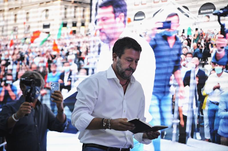 Matteo Salvini (Photo by Laura Lezza/Getty Images)
