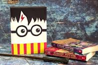"""<p>It may not have magical powers like Harry, but at least it'll look the part, lightning bolt scar and all. </p><p><em><a href=""""https://funmoneymom.com/harry-potter-valentine-box/"""" rel=""""nofollow noopener"""" target=""""_blank"""" data-ylk=""""slk:Get the tutorial at Fun Money Mom »"""" class=""""link rapid-noclick-resp"""">Get the tutorial at Fun Money Mom » </a></em></p>"""