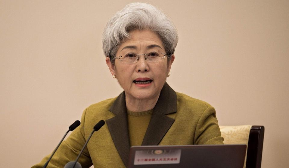 Fu Ying says China and the US should work together to build a global governance system for AI technologies. Photo: AFP