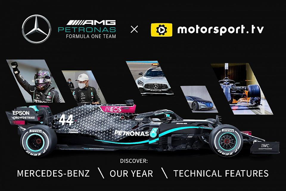 Mercedes launches dedicated channel on Motorsport.tv