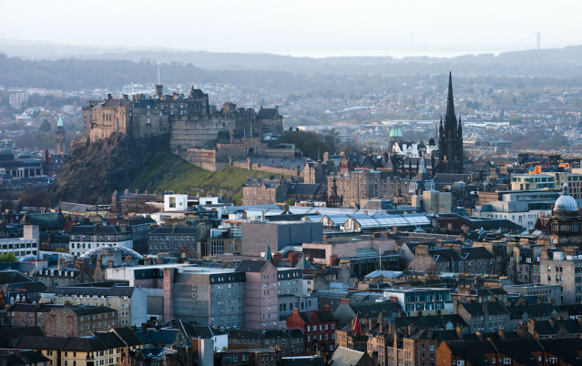 <p>No. 18: Edinburgh, United Kingdom<br>Cost of a date: $115<br>(Picture: Rex) </p>