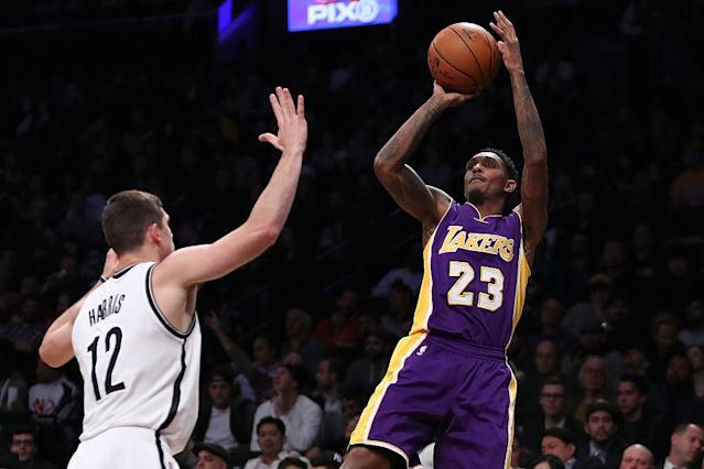 """<a class=""""link rapid-noclick-resp"""" href=""""/nba/players/3971/"""" data-ylk=""""slk:Lou Williams"""">Lou Williams</a>' instant and efficient offense has made the Lakers' bench one of the NBA's most explosive. (Getty Images)"""