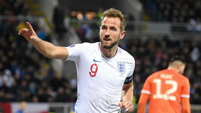 England's 2019 vintage drew level with the World Cup winners from 1966 as Harry Kane was once again on target against Kosovo.