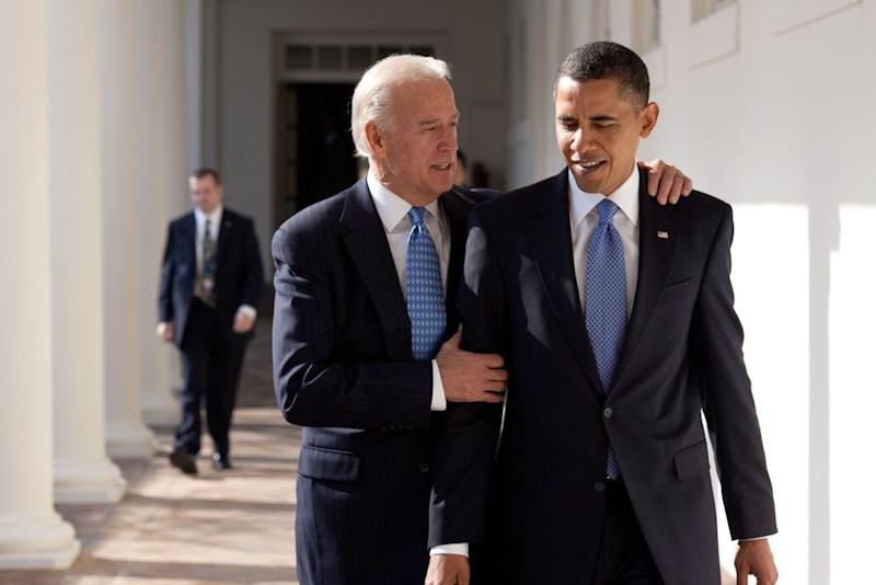Joe Biden (left) with Barack Obama in 2010 | The White House Official Photographer