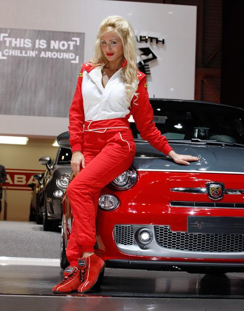 No auto show is complete without the glitz and glamour and the Geneva Motor Show is no exception. Who is the hottest?