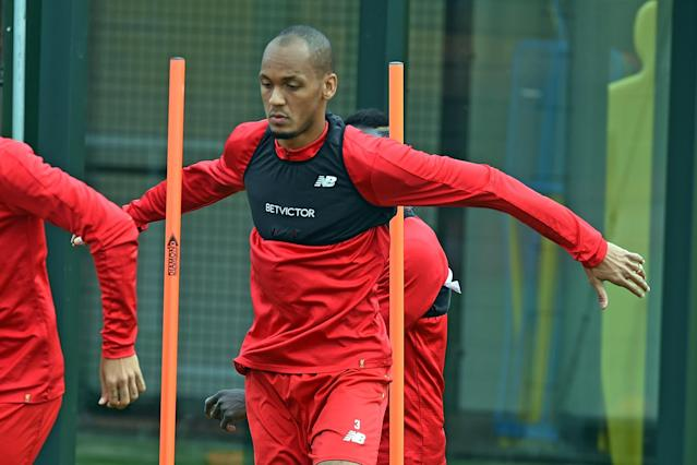 Fabinho is yet to force his way into Liverpool's side