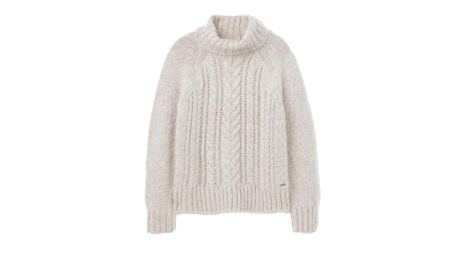 Carmella Knitted Cable Jumper
