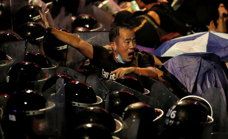 A Picture and Its Story: 'Danger was coming': lone protester who defied Thai police