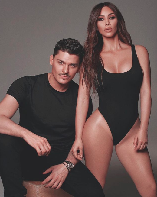 The star recently launched a new collaboration with makeup artist Mario Dedivanovic, whom she has worked with for 10 years. Source: Greg Swales / KKW Beauty