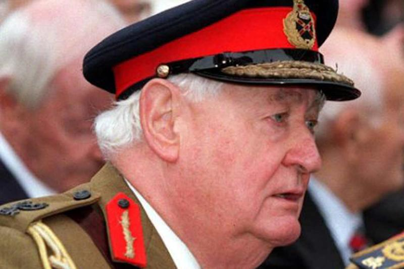 Bungled probe: Lord Bramall was accused of being a paedophile by police: Tony Harris