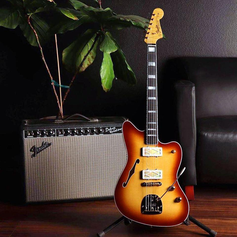"""<p><strong>FenderPlay</strong></p><p>walmart.com</p><p><strong>$89.99</strong></p><p><a href=""""https://go.redirectingat.com?id=74968X1596630&url=https%3A%2F%2Fwww.walmart.com%2Fip%2F848176475&sref=https%3A%2F%2Fwww.bestproducts.com%2Flifestyle%2Fg32259359%2Flast-minute-fathers-day-gifts%2F"""" rel=""""nofollow noopener"""" target=""""_blank"""" data-ylk=""""slk:Shop Now"""" class=""""link rapid-noclick-resp"""">Shop Now</a></p><p>Whether he's already an instrumentalist at heart or has always dreamed of playing guitar like Santana, access to Fender Play will provide him with the right tools to master new musical skills. Choose from online lessons in bass, guitar, or ukulele, and the step-by-step instructions will have him playing his first song in just a few minutes.</p>"""