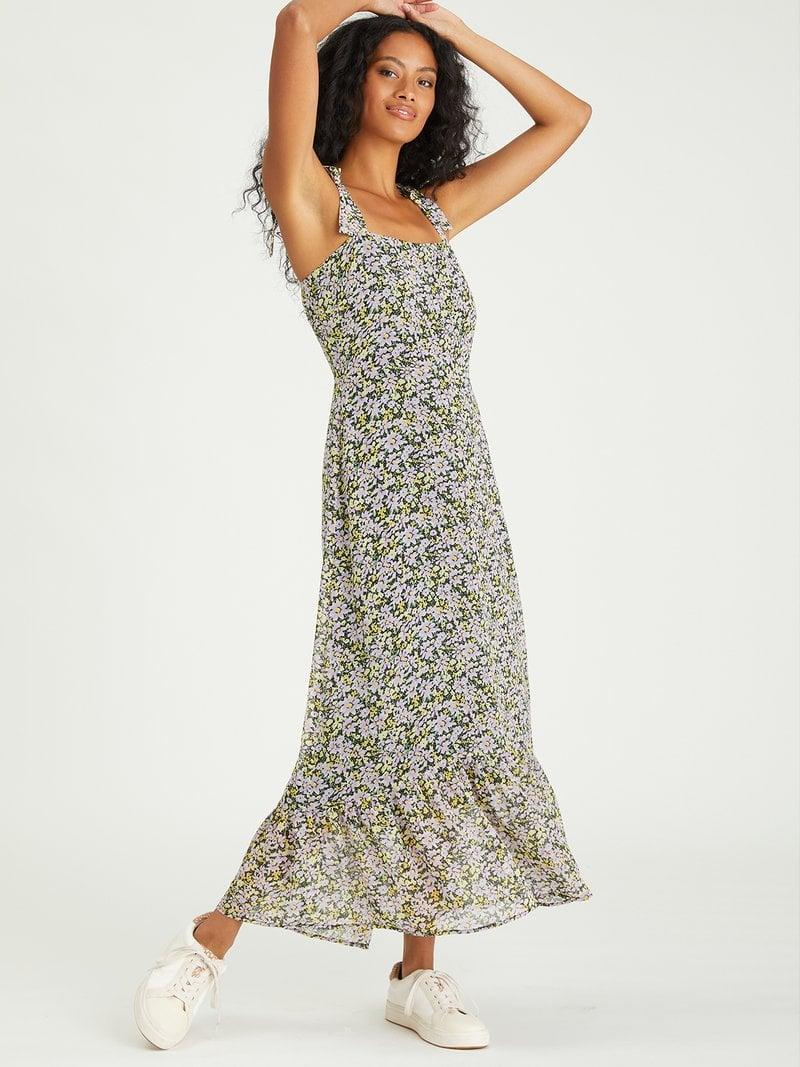<p>Wear this <span>Sanctuary London Sundress</span> ($169) with white sneakers.</p>