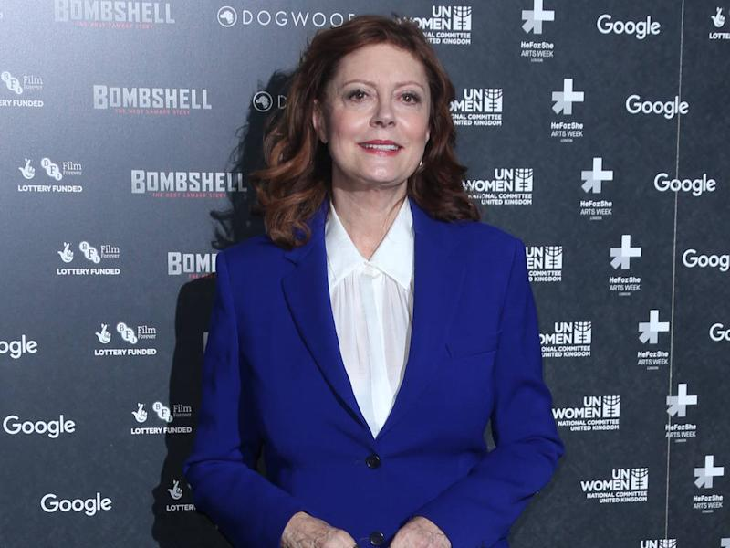 Susan Sarandon prefers wearing tuxedos to dresses on the red carpet