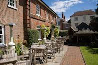 """<p>For a city-centre hotel in Winchester, look no further than the <a href=""""https://www.redescapes.com/offers/hampshire-winchester-hotel-du-vin-hotel"""" rel=""""nofollow noopener"""" target=""""_blank"""" data-ylk=""""slk:Hotel Du Vin"""" class=""""link rapid-noclick-resp"""">Hotel Du Vin</a>, a lovely townhouse hotel set just off the high street and close to Winchester Castle and Cathedral, which boasts Georgian townhouse architecture combined with French-inspired interiors. Expect roll-top baths in the rooms, L'Occitane toiletries and thoroughly French wining and dining in the Bistro.</p><p><a class=""""link rapid-noclick-resp"""" href=""""https://www.redescapes.com/offers/hampshire-winchester-hotel-du-vin-hotel"""" rel=""""nofollow noopener"""" target=""""_blank"""" data-ylk=""""slk:CHECK OUT RED'S OFFER"""">CHECK OUT RED'S OFFER</a></p>"""