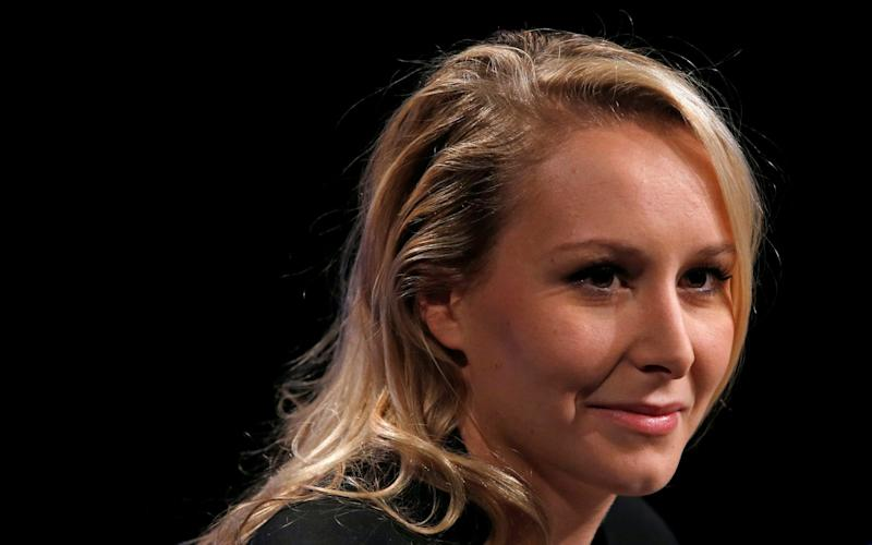 Marion Marechal-Le Pen, the French National Front politician  - REUTERS