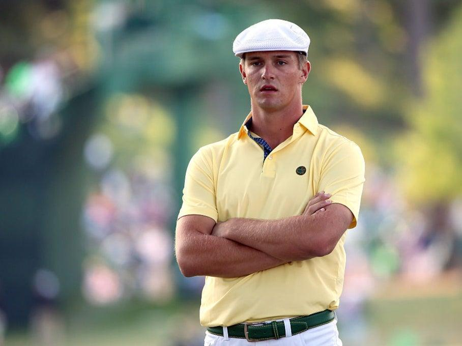Bryson DeChambeau competes at The Masters as an amateur in 2016Getty Images