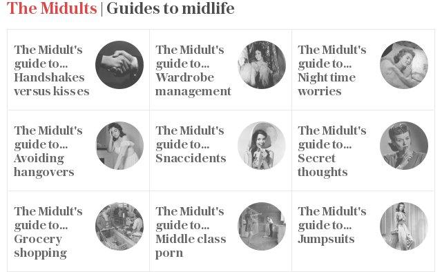 The Midults: Guides to midlife