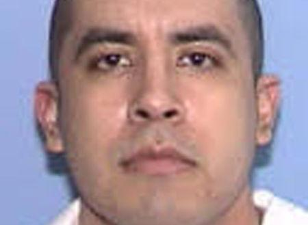 Texas death row inmate Rosendo Rodriguez appears in a booking photo provided by the Texas Department of Criminal Justice, March 27, 2018.    Texas Department of Criminal Justice/Handout via REUTERS