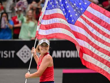 Sofia Kenin, Sloane Stephens power United States to victory over Switzerland in Fed Cup World Group playoff
