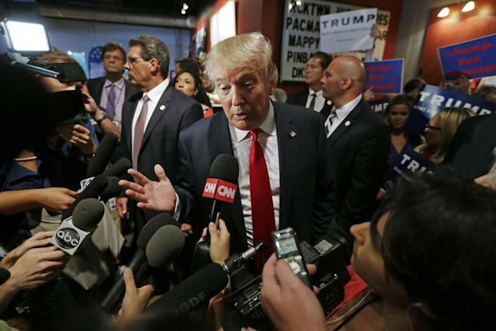 CNN gave Mr Trump more coverage than any other Republican candidate: AP