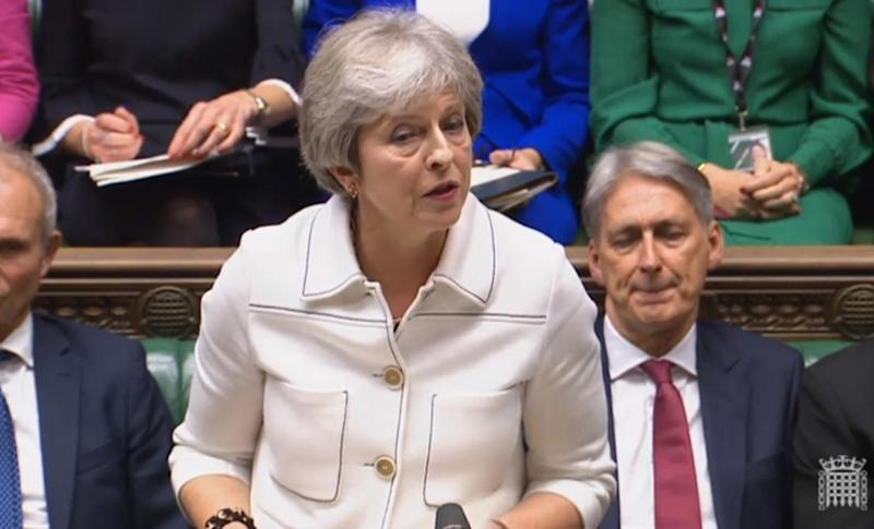 A referendum would give a definitive mandate, based on the choices of Remain, no-deal Brexit, or the best deal that Theresa May can negotiate: PA
