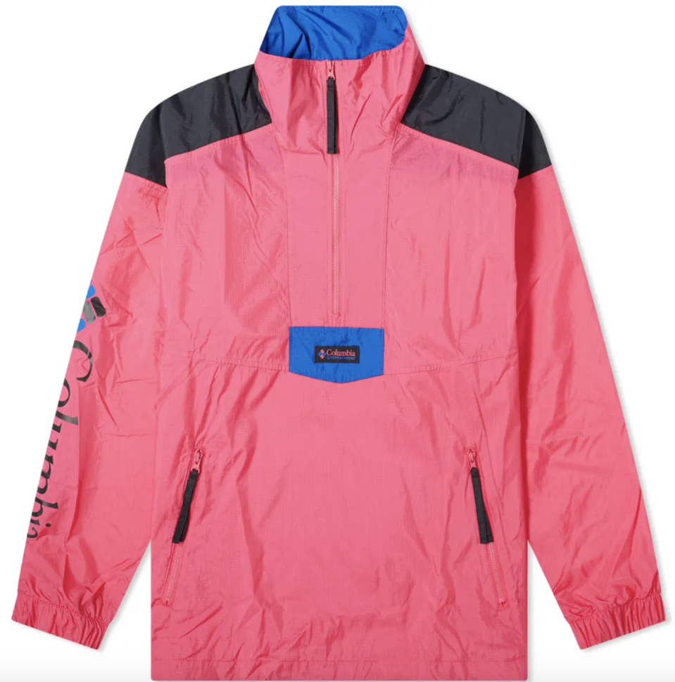 "<p><strong>Columbia</strong></p><p>endclothing.com</p><p><strong>$69.00</strong></p><p><a href=""https://go.redirectingat.com?id=74968X1596630&url=https%3A%2F%2Fwww.endclothing.com%2Fus%2Fcolumbia-santa-ana-anorak-1890091-612.html&sref=https%3A%2F%2Fwww.esquire.com%2Fstyle%2Fmens-fashion%2Fg34589577%2Fbest-mens-hiking-outfits-clothes%2F"" rel=""nofollow noopener"" target=""_blank"" data-ylk=""slk:Buy"" class=""link rapid-noclick-resp"">Buy</a></p>"