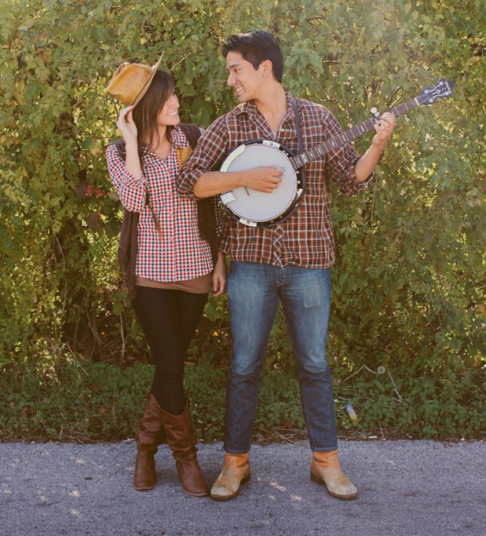 """<p>Looking for a cute <a href=""""https://www.thepioneerwoman.com/holidays-celebrations/g33864467/easy-halloween-costumes-for-couples/"""" rel=""""nofollow noopener"""" target=""""_blank"""" data-ylk=""""slk:couples costume"""" class=""""link rapid-noclick-resp"""">couples costume</a>? These simple cowboy and cowgirl get-ups can be pulled together with items already in your closet. </p><p><strong>Get the tutorial at <a href=""""https://abeautifulmess.com/last-minute-costume-ideas-for-couples/"""" rel=""""nofollow noopener"""" target=""""_blank"""" data-ylk=""""slk:A Beautiful Mess"""" class=""""link rapid-noclick-resp"""">A Beautiful Mess</a>. </strong></p><p><a class=""""link rapid-noclick-resp"""" href=""""https://go.redirectingat.com?id=74968X1596630&url=https%3A%2F%2Fwww.walmart.com%2Fip%2FSmoky-Mountain-Women-s-Jolene-11-Brown-Waxed-Distress-Leather-Cowboy-Boot-6054%2F900926898&sref=https%3A%2F%2Fwww.thepioneerwoman.com%2Fholidays-celebrations%2Fg33925966%2Fwestern-halloween-costumes%2F"""" rel=""""nofollow noopener"""" target=""""_blank"""" data-ylk=""""slk:SHOP BROWN COWBOY BOOTS"""">SHOP BROWN COWBOY BOOTS</a></p>"""