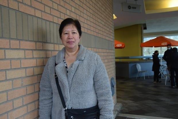 Jerty Gaa hopes to get her job back as a hotel attendant in Vancouver once the hospitality sector comes back. She says switching jobs at this point would likely mean losing more than a third of what she used to make. (Unite Here - image credit)