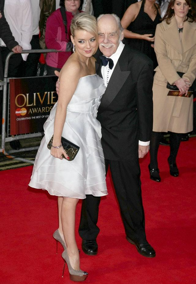 Sheridan Smith and her father Colin
