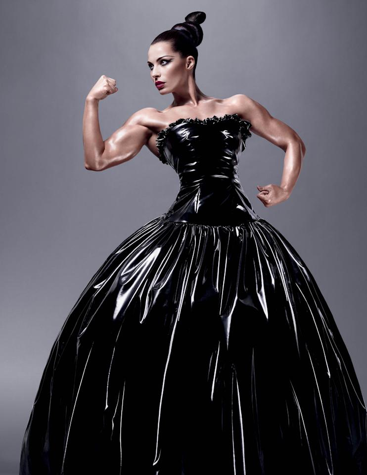 "<div class=""caption-credit""> Photo by: MAC</div><div class=""caption-title""></div>The beauty industry was taken by surprise when MAC debuted its latest spokesperson, Jelena Abbou, a Serbian-American female bodybuilder with the kind of ripped physique more likely to be found in Muscle Milk ads than high-end cosmetics campaigns. For those within the female bodybuilding world, however, it made perfect sense. ""A lot of us use MAC,"" Monet Colbert, a make-up artist and former bodybuilder, tells Yahoo Shine. ""It's designed for theatrical stage performances."" That means it holds up under the double white lights designed to capture every muscle striation--and if you're not prepared, every wrinkle. <br>"