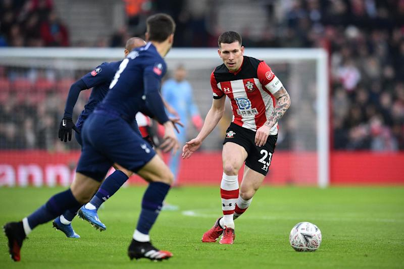 Wanted: Southampton midfielder Hojbjerg Photo: AFP via Getty Images
