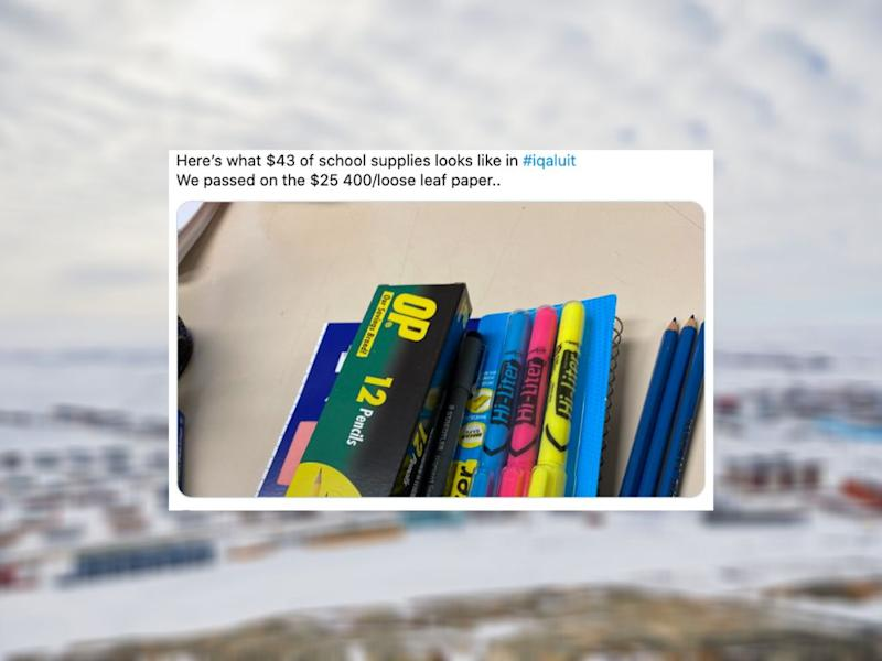 People Are Donating School Supplies To Nunavut Kids, Thanks To A Mom's Tweet