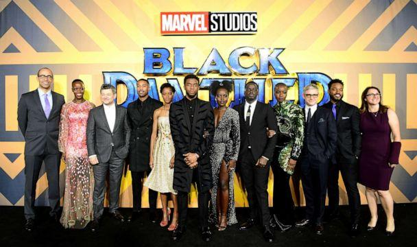 PHOTO: The cast and crew of Black Panther attend The Black Panther European Premiere at The Eventim Apollo Hammersmith London, Feb. 18. 2018. (PA Images via Getty Images)