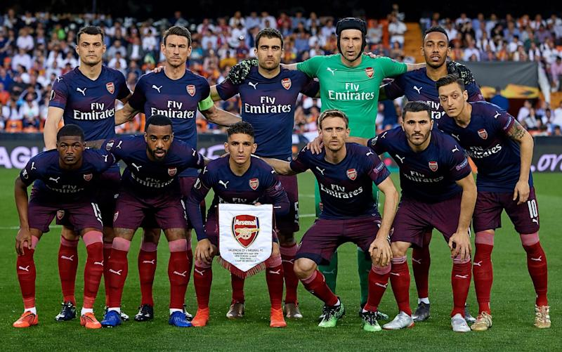 Arsenal secured their Europa League final spot with victory over Valencia - Getty Images Europe