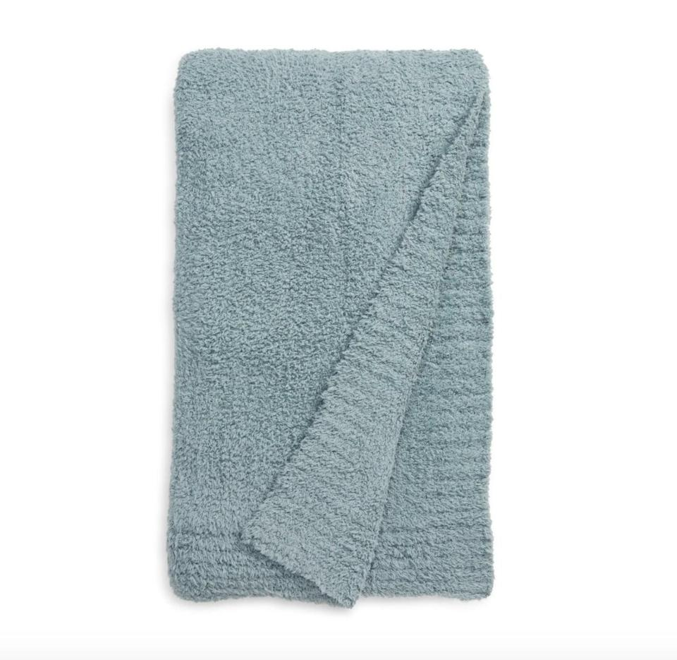 <p>If you want to invest in your host's comfort, this <span>Barefoot Dreams CozyChic Throw Blanket</span> ($147) will have them feeling like they're snuggling up on cloud nine. </p>