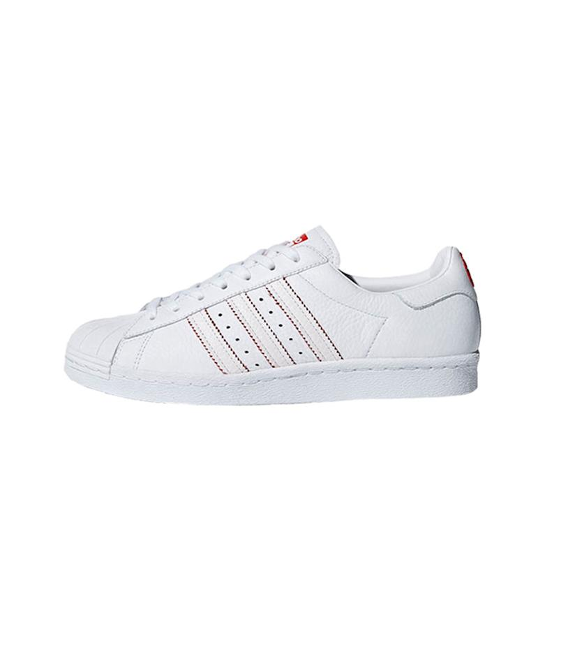 "<p>Superstar '80s CNY shoes, $110, <a rel=""nofollow"" href=""https://www.adidas.com/us/superstar-80s-cny-shoes/DB2569.html"">adidas.com</a> </p>"