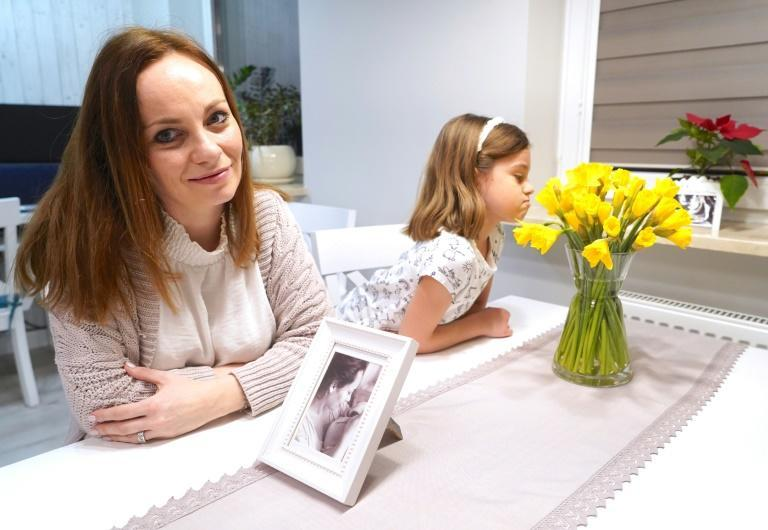 Kamila Lewandowska-Nowak, 39, said she had previously never heard of perinatal palliative care, but that the hospice helped her greatly when she needed support