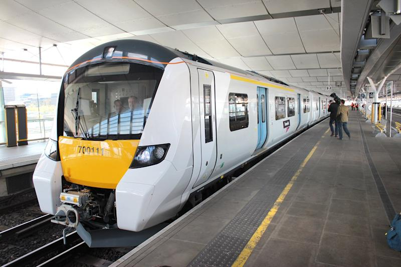 New plans: Self-driving trains are being tested on the Thameslink line through central London: Thameslink Trains