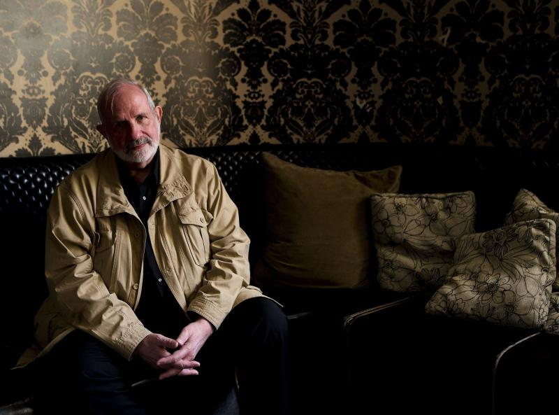 """Director Brian De Palma poses for a photograph for the movie """"Passion"""" during the 2012 Toronto International Film Festival in Toronto on Tuesday Sept. 11, 2012. (AP Photo/The Canadian Press, Michelle Siu)"""