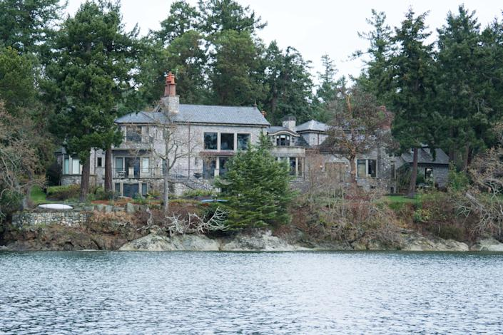 The residence of Prince Harry and Meghan while they were in Canada. (Getty Images)