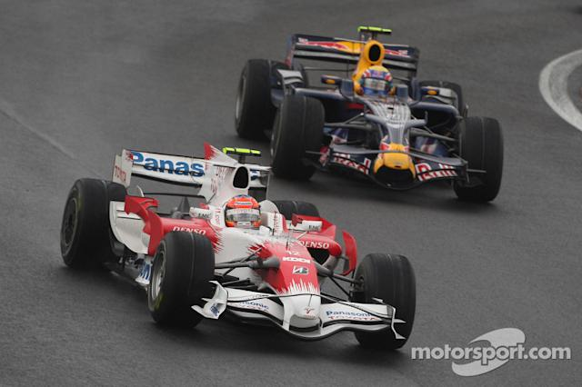 "Timo Glock, na F1 entre 2004 e 2012 <span class=""copyright"">XPB Images</span>"
