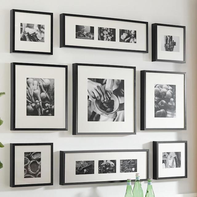 Make your own gallery wall, or spread these out throughout the house. (Photo: Home Depot)