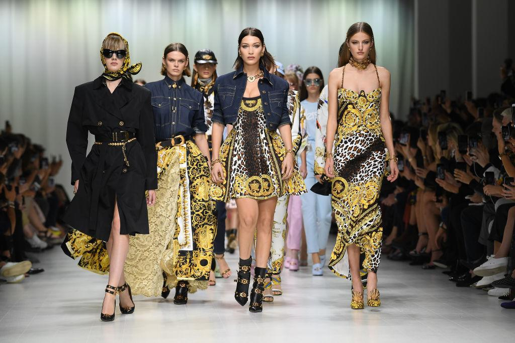 <p>Original supermodels assemble in Milan </p>
